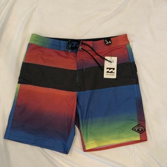 Billabong Other - Billabong Men's Board Short Swimsuit Size 34